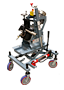 KBM-18® Heavy Duty Beveling Machine with Adjustable Height Undercarriage